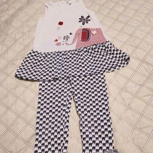 Little miss Summer Suit Gently Worn size 4